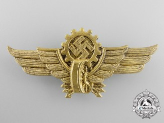 A DAF Cap Badge for Officers