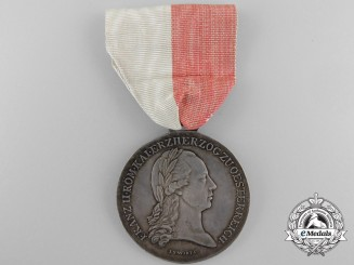 An 1797 Napoleonic Lower Austria Military Merit Medal