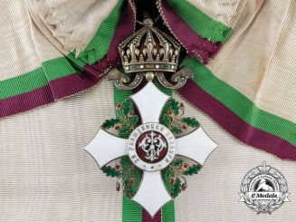 A Bulgarian Order of Civil Merit; Grand Cross Badge