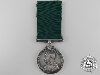 A Colonial Auxiliary Forces Long Service Medal to the Argyll & Sutherland Highlanders