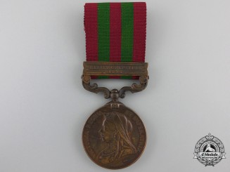 An India Medal 1895-1902 to the Madras Construction Transport Department