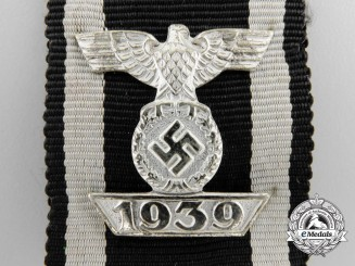 A Clasp to the Iron Cross 2nd Class 1939; Reduced Size