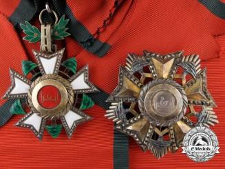 Lebanon. A National Lebanese Order of the Cedar; Grand Cross by A. Bertrand, Paris
