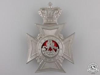 A 22nd Battalion Oxford Rifles Helmet Plate
