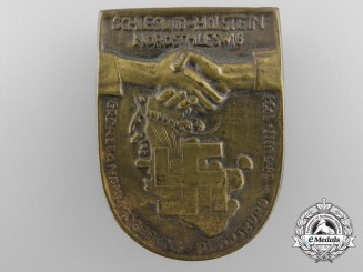 Germany, Third Reich. A 1933 Schleswig Holstein North Cross-Country Rally Badge