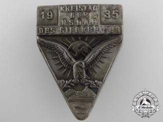 A 1935 NSDAP Council Meeting Tinnie