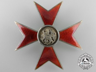 A Mecklenburg-Schwerin Order of the Griffon; Honour Cross by Maybauer