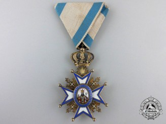 An Austrian Made Serbian Order of St. Sava by Scheid; Fifth Class