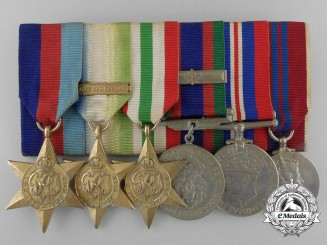A Second War Canadian Italian Theater & Coronation Medal Group