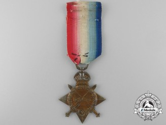A 1914-15 Star to Private Louis Nadreau; 2nd Divisional Cyclist Company