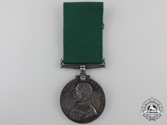 A Long Service Medal to the Highest Ranking Native in Canadian History