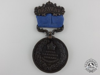 A Royal Canadian Humane Association Medal for the Rescuing of the Crew of the Hera 1899