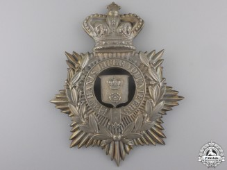 A 2nd Hampshire Rifle Volunteers Helmet Plate