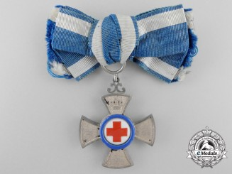 A 1901 Bavarian Cross for Medical Volunteers