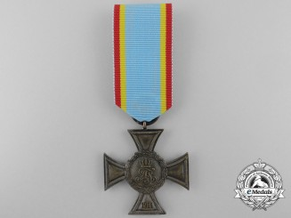 A Mecklenburg-Strelitz Bravery Merit Cross; 2nd Class