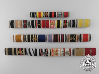 Eleven First & Second War German Ribbon Bars