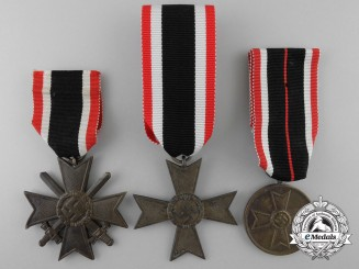 Three German War Merit Awards
