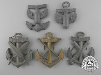 Germany, Kriegsmarine. Five Second War Trade Insignia
