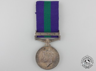 A General Service Medal 1918-1962 to the Pathan Regiment I E
