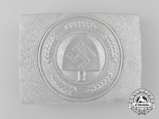 Germany, RAD. An (Reichsarbeitsdienst) Enlisted Man's Belt Buckle; Published Example