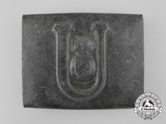 A Croatian Ustasha Enlisted-NCO's Belt Buckle