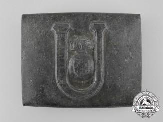A Croatian Ustasha Enlisted-NCO's Belt Buckle