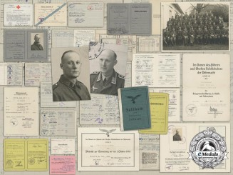 A Luftwaffe Flak Document Group; Wurzen 13th Regiment