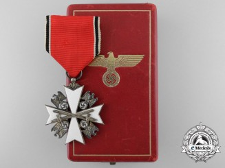 A German Eagle Order; 5th Class by Godet of Berlin with Case