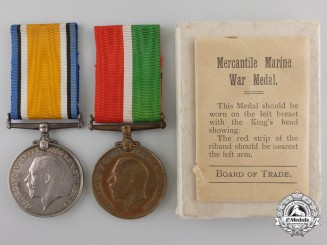 A First War Mercantile Marine Pair to Newfoundlander