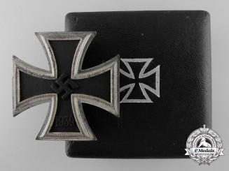 An Iron Cross First Class 1939 by C. F. Zimmermann, Pforzheim