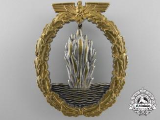 An Early Kriegsmarine Minesweeper War Badge