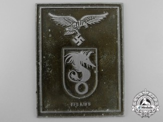 A Luftwaffe Pilot Training School A/B 5 Award Plaque