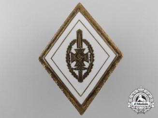 A NSKOV Honor Badge with Oakleaves by Deschler & Sohn