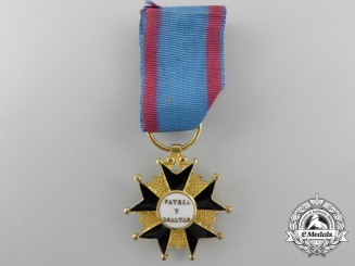A Spanish Cross of Merit to the Homeland; Reduced Size