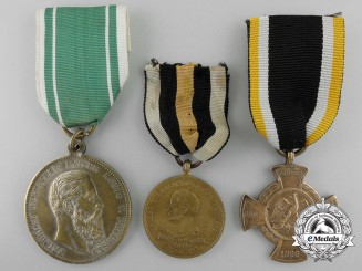 Three Prussian Medals and Awards