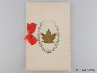 A 35th Canadian Infantry Battalion CEF Card