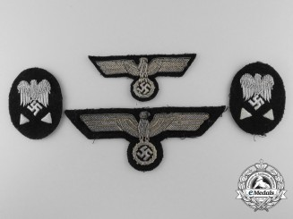 A Lot of Kriegsmarine, Technical Officials, Elevated Grade Official's insignia