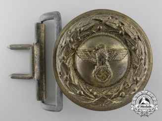 A German Penal Institution Administration Official's Type II Belt Buckle; Published Example