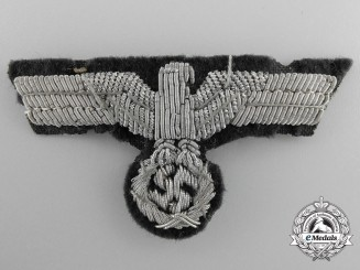An Army Officer's Bullion Eagle for Visor Hat (Schirmutze)