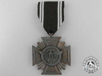 An NSDAP Long Service Award; Third Class