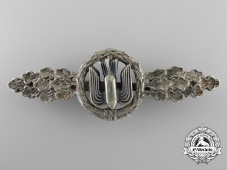 Germany, Luftwaffe. A Squadron Clasp for Bomber Pilots, Silver Grade
