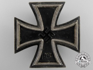 An Iron Cross First Class 1939 by Ferdinand Hoffstätter