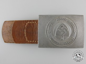 An R.A.D. Belt Buckle by IKA with 1939 Tab