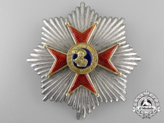 An Early Order of St.Gregory Breast Star: First Type c.1845