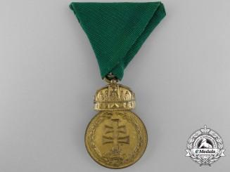 Hungary. A Signum Laudis Medal, Bronze Grade; Type I (1922-1929)