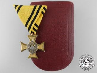 An Austrian Military Service Decoration 1890-1918; 3rd class