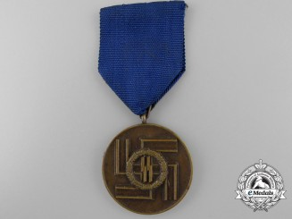 An SS Long Service Award; Third Class for Eight Years