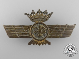 A Spanish Civil War Period Fascist Pilot Wings