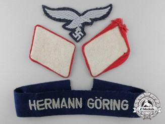 Germany, Luftwaffe. A Lot of Hermann Göring Division Insignia