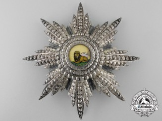 An Iranian Order of the Lion and Sun; Grand Cross Star